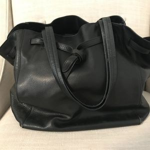 Celine Cabas Phantom Medium Tote - Black